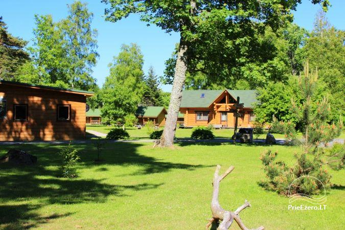 Camping SILI. Holiday Cottages, Bathhouse, Places for Tents - 2