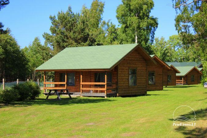 Camping SILI. Holiday Cottages, Bathhouse, Places for Tents - 9