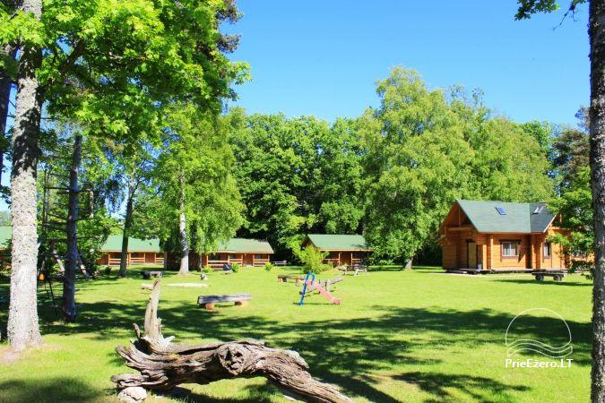 Camping SILI. Holiday Cottages, Bathhouse, Places for Tents - 3