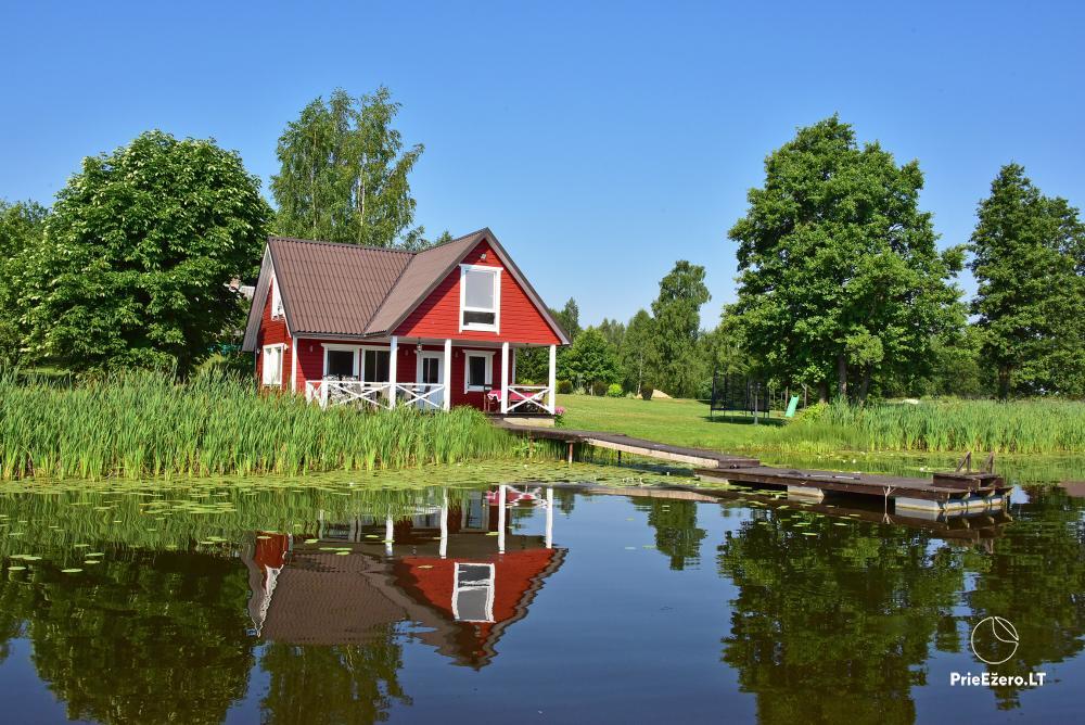 Homestead in Zarasai region at the lake Neceskas - 10