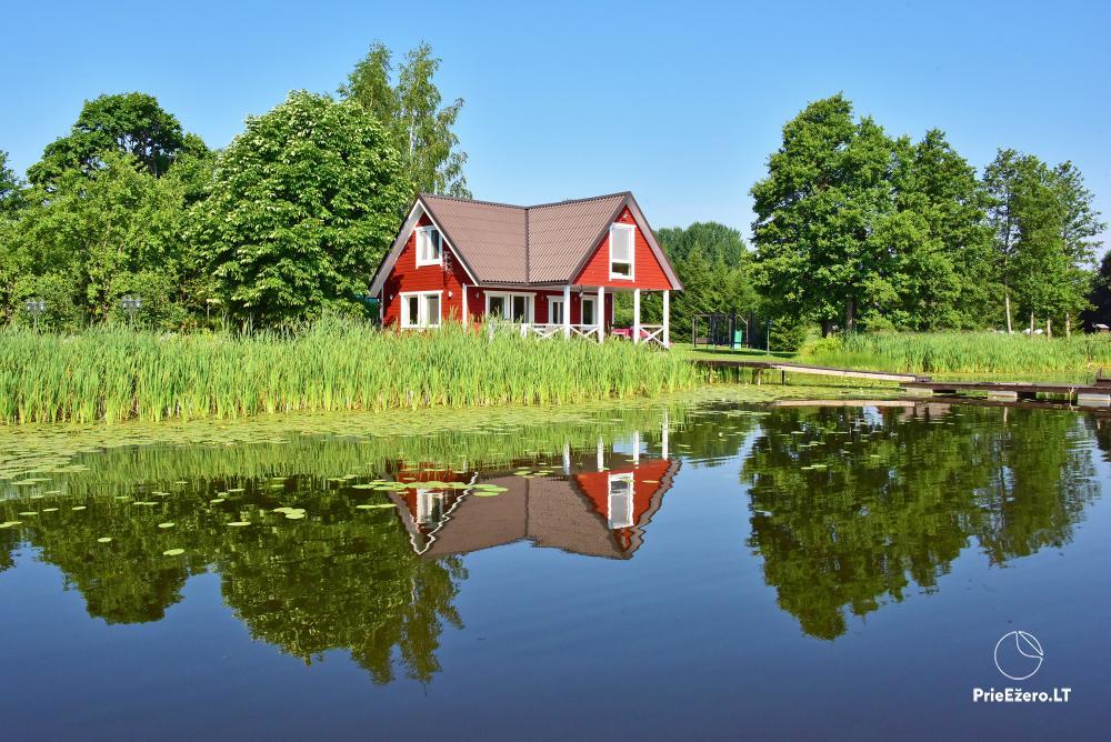 Homestead in Zarasai region at the lake Neceskas - 9
