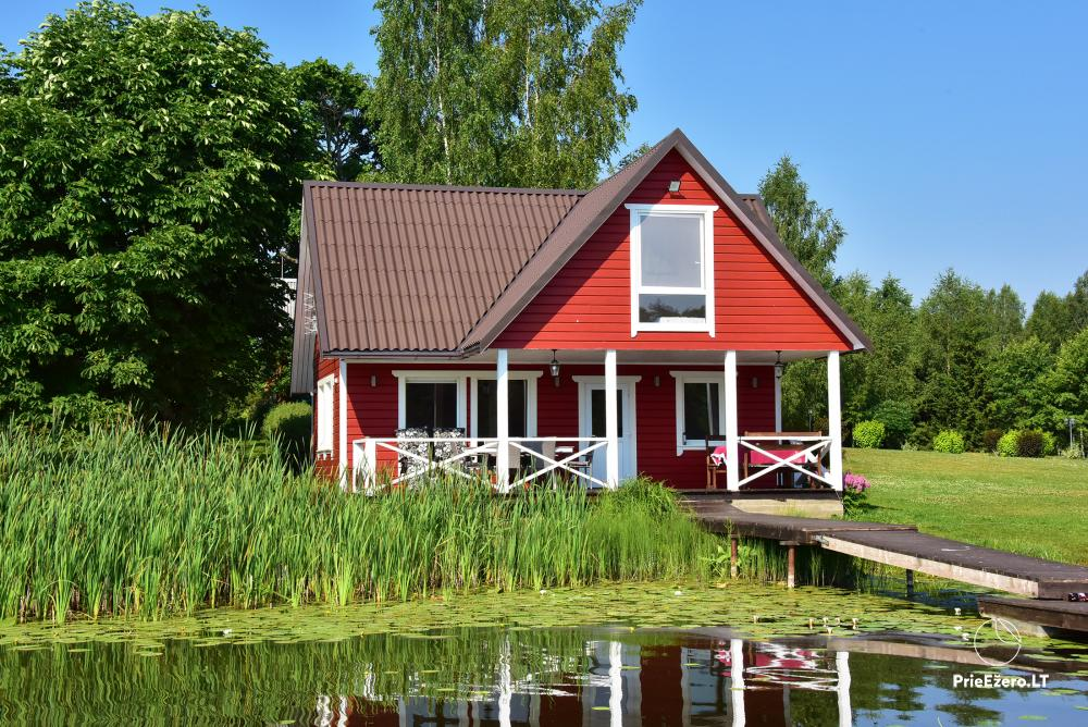 Homestead in Zarasai region at the lake Neceskas - 11