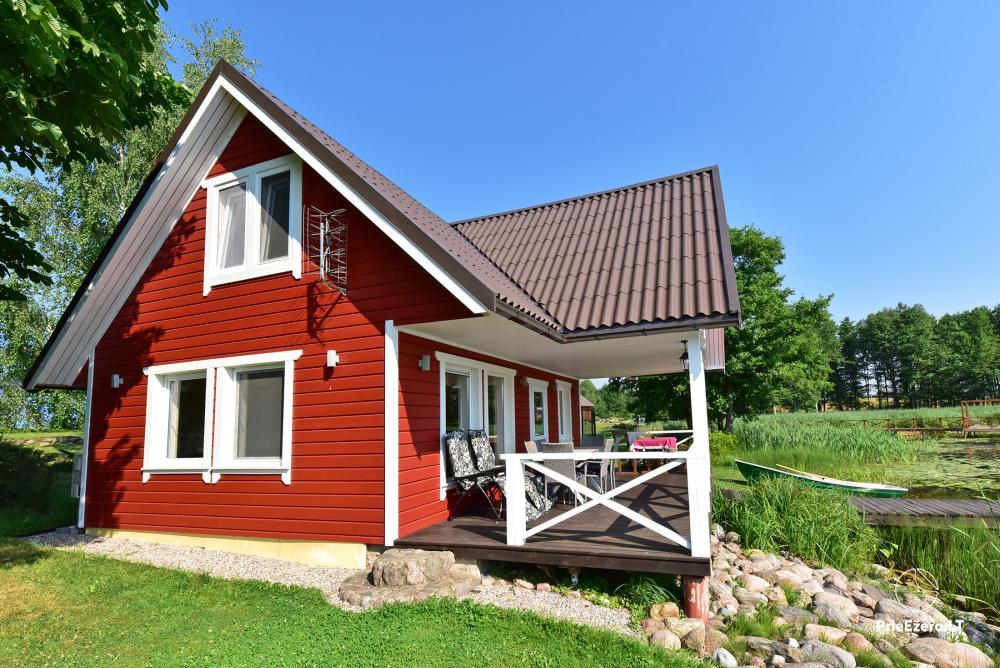 Homestead in Zarasai region at the lake Neceskas - 1