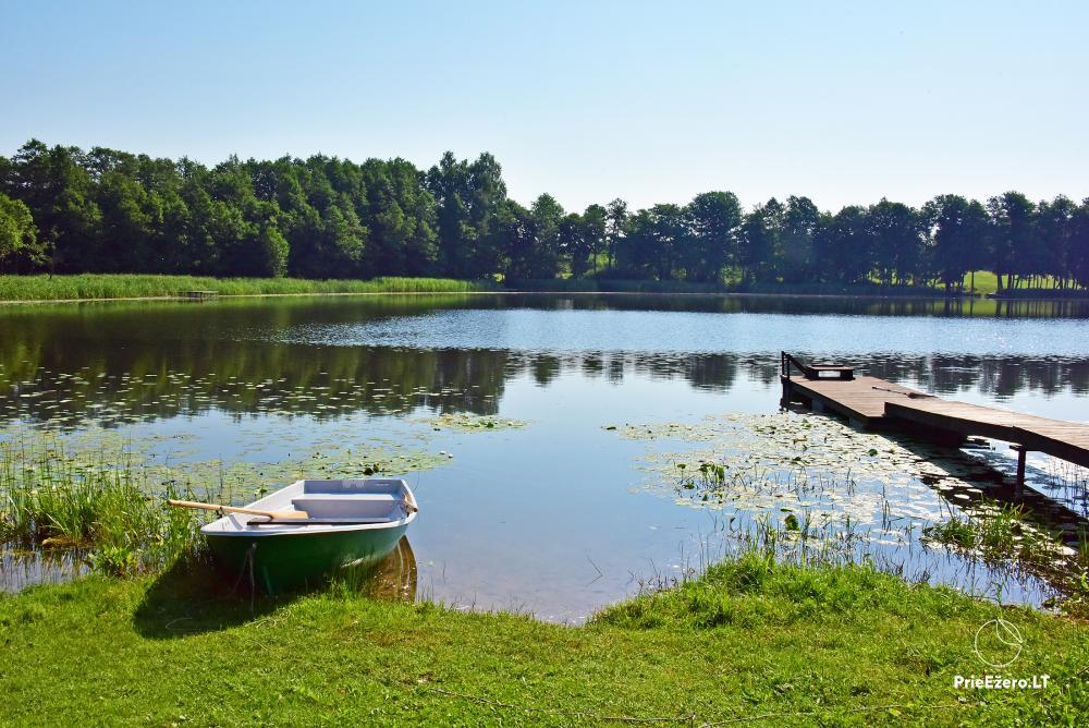Homestead in Zarasai region at the lake Neceskas - 4