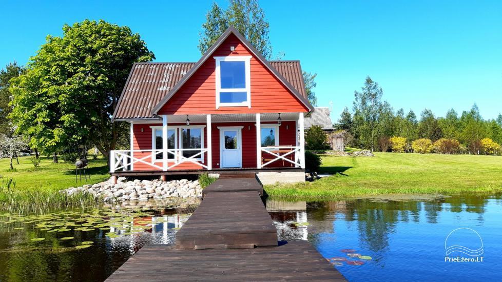 Homestead in Zarasai region at the lake Neceskas - 20