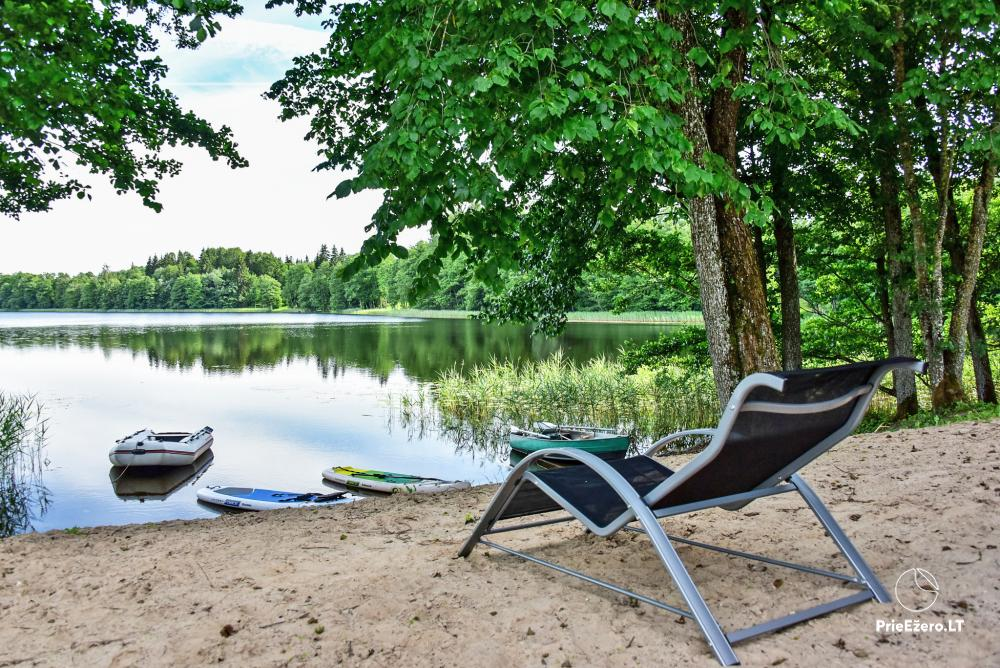 Sauna and dome houses for rent on the lakeshore - 12