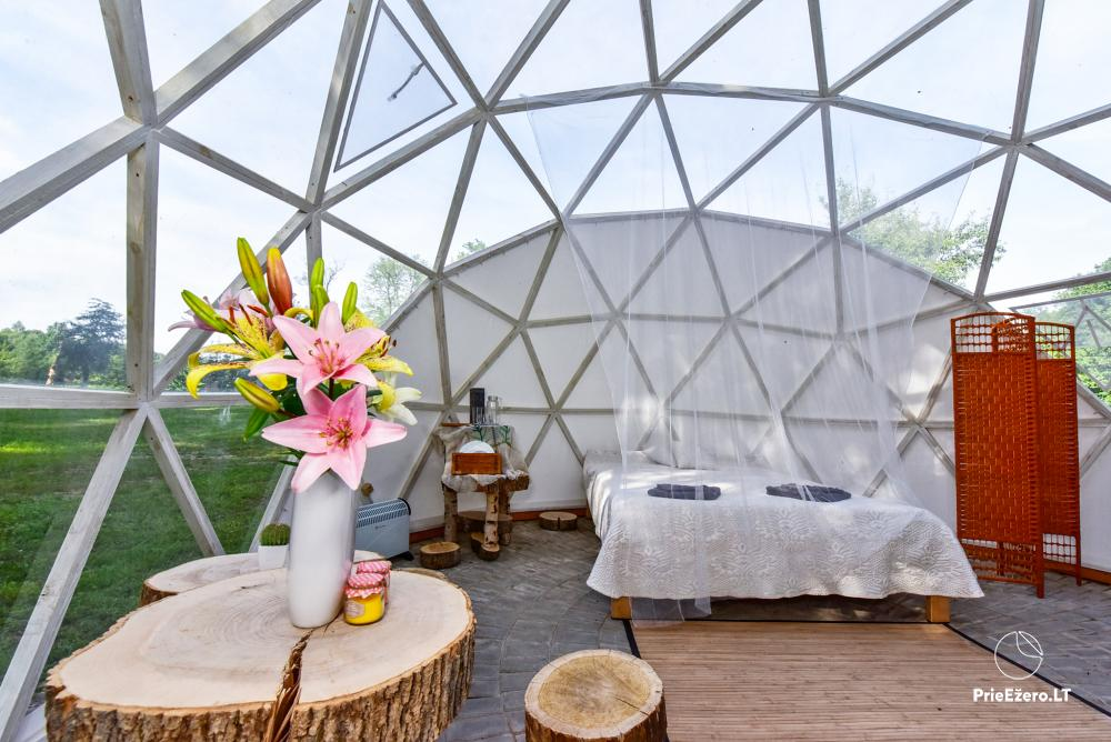 Sauna and dome houses for rent on the lakeshore - 2