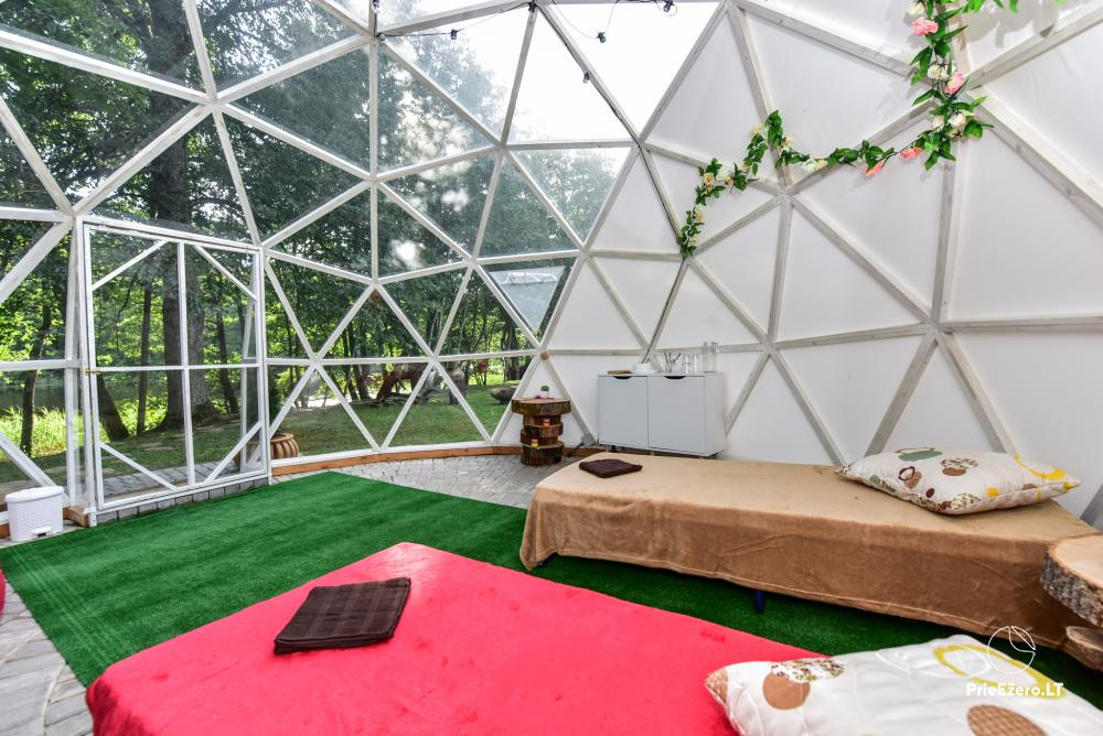 Sauna and dome houses for rent on the lakeshore - 15