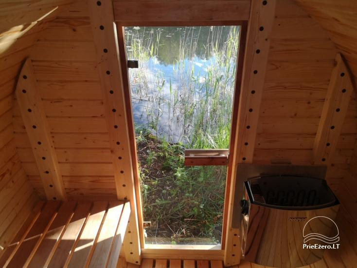 Sauna and dome houses for rent on the lakeshore - 10