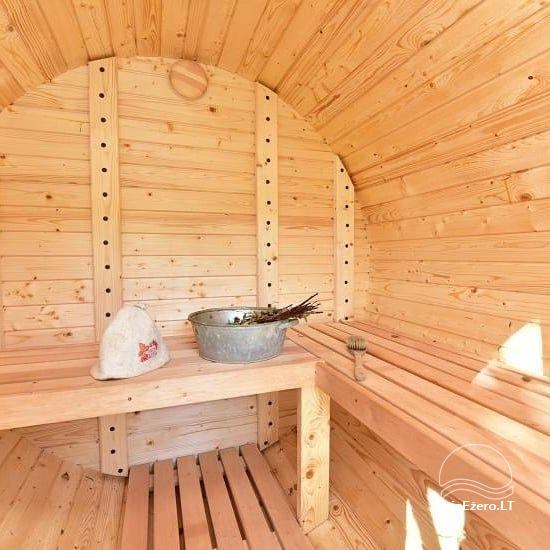 Sauna and dome houses for rent on the lakeshore - 7
