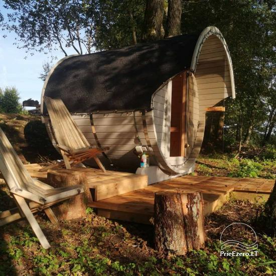 Sauna and dome houses for rent on the lakeshore - 4