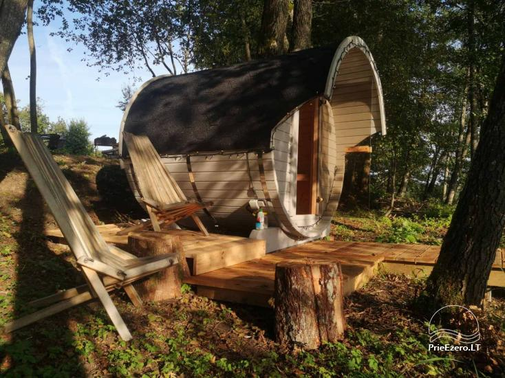 Sauna and dome houses for rent on the lakeshore - 3