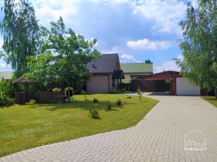 Villa The Sun für Familienruhe in Druskininkai - 2