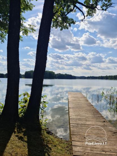 "Domek nad jeziorem ""Volungė"" - 17"