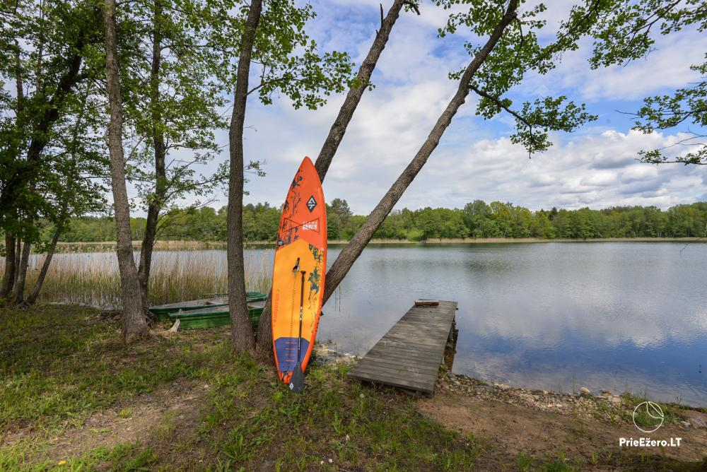 Private estate Lazdijai district. at Gailiekas lake Sandų sodyba - 34