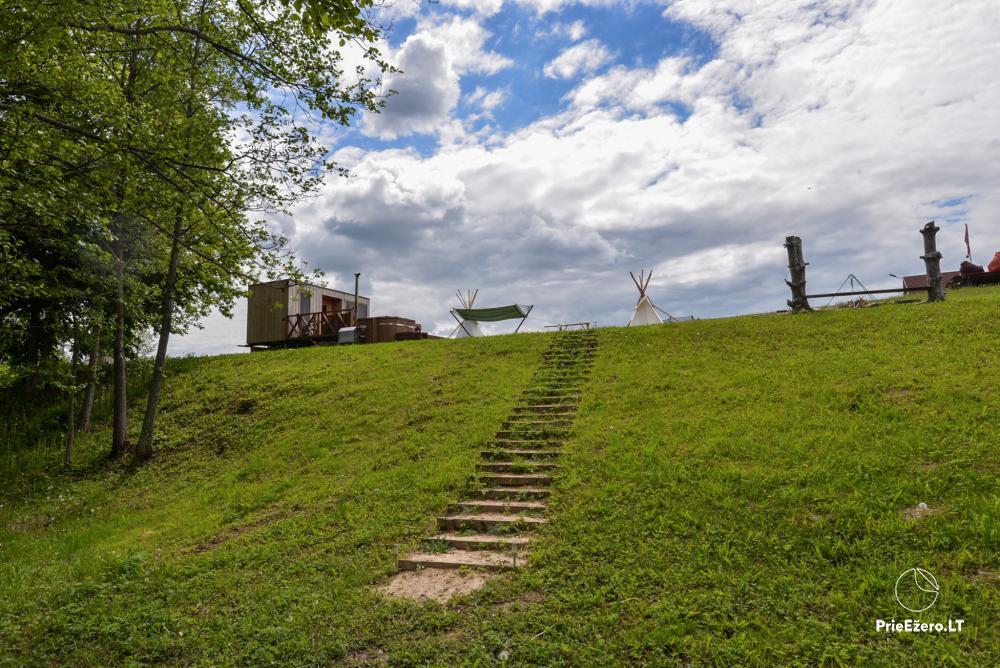 Private estate Lazdijai district. at Gailiekas lake Sandų sodyba - 32