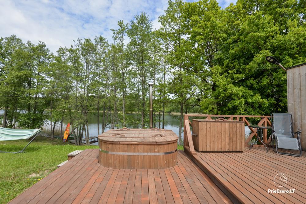 Private estate Lazdijai district. at Gailiekas lake Sandų sodyba - 4