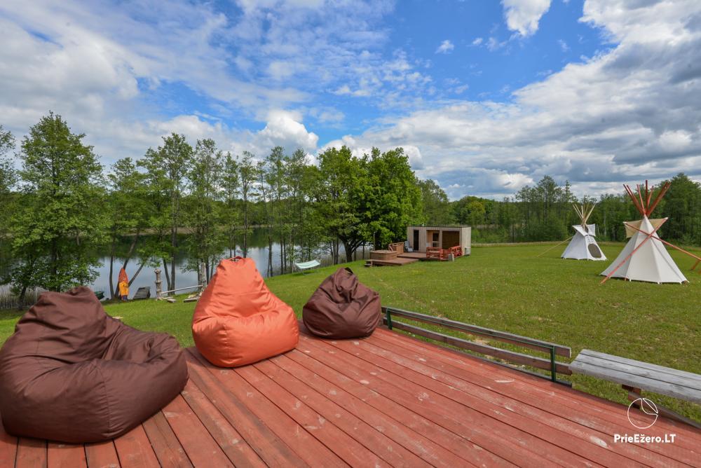 Private estate Lazdijai district. at Gailiekas lake Sandų sodyba - 20