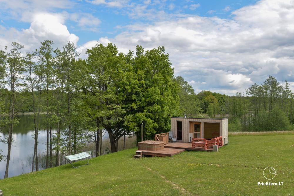 Private estate Lazdijai district. at Gailiekas lake Sandų sodyba - 1