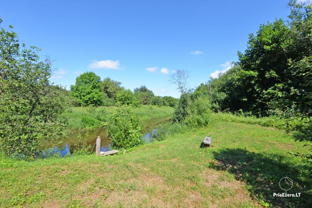 Countryside homestead By the bridge  in Raseiniu region near the river Dubysa - 20