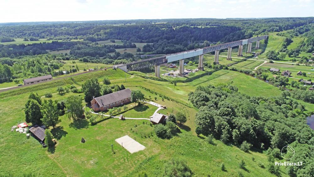 Countryside homestead By the bridge  in Raseiniu region near the river Dubysa - 2