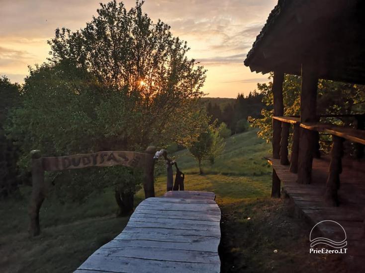 Загородная усадьба У моста в районе Расейню у реки Дубиса. - 2