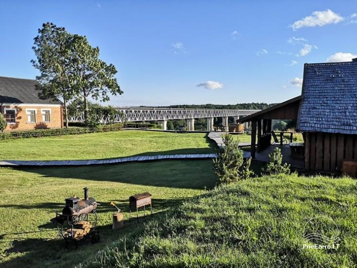 Загородная усадьба У моста в районе Расейню у реки Дубиса. - 12