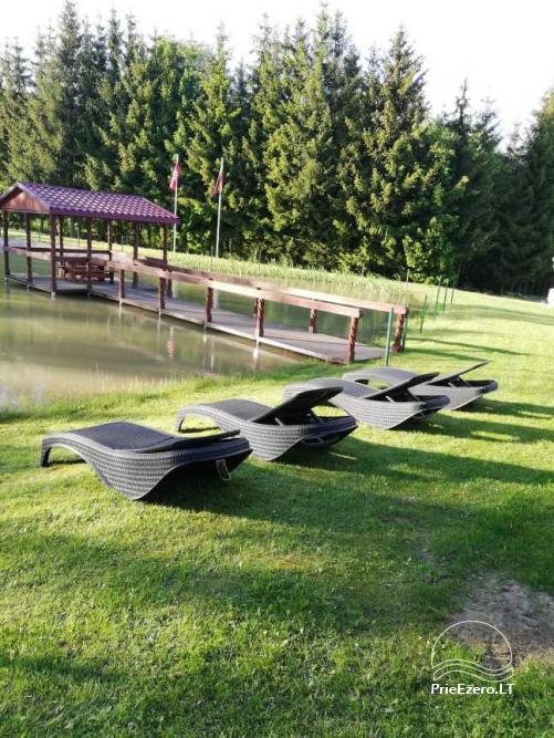 Countryside homestead near the lake Rašis - 43