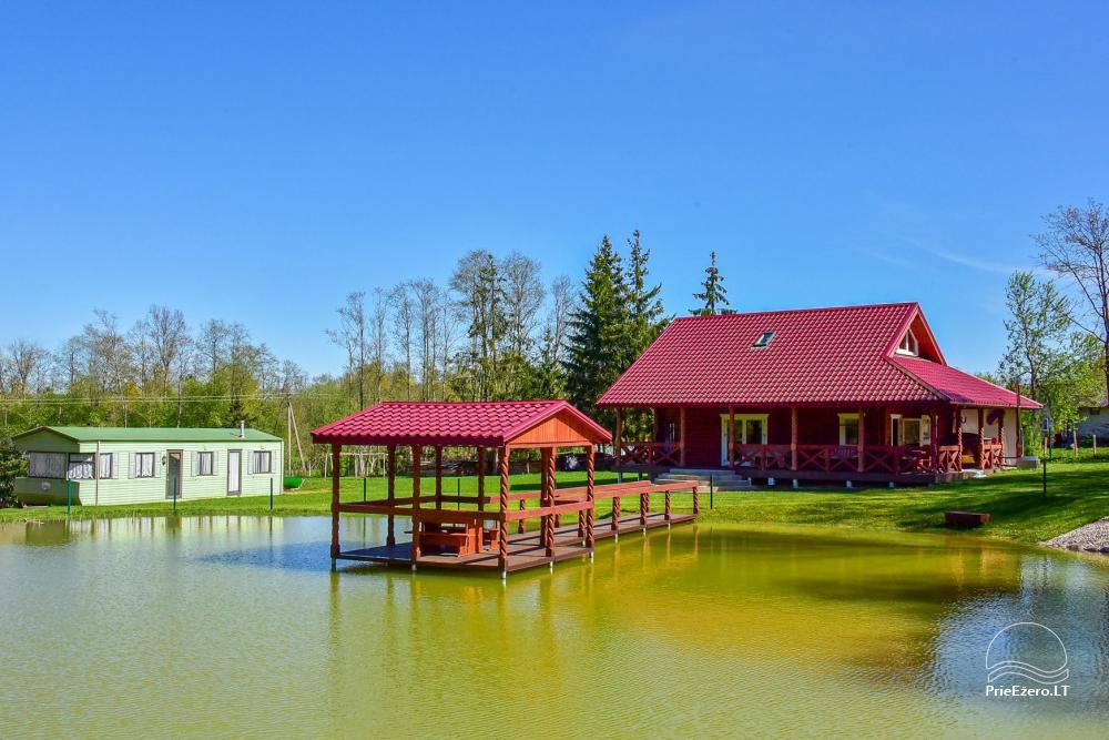 Countryside homestead near the lake Rašis - 1