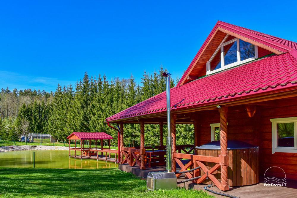 Countryside homestead near the lake Rašis - 6