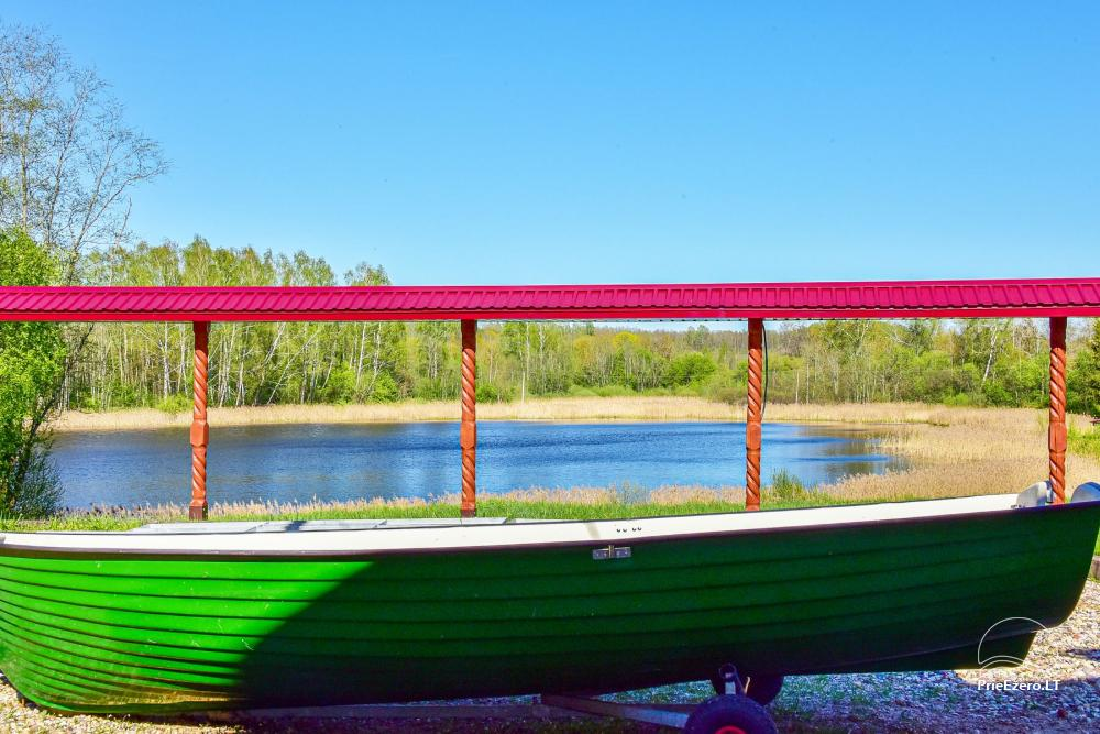 Countryside homestead near the lake Rašis - 37