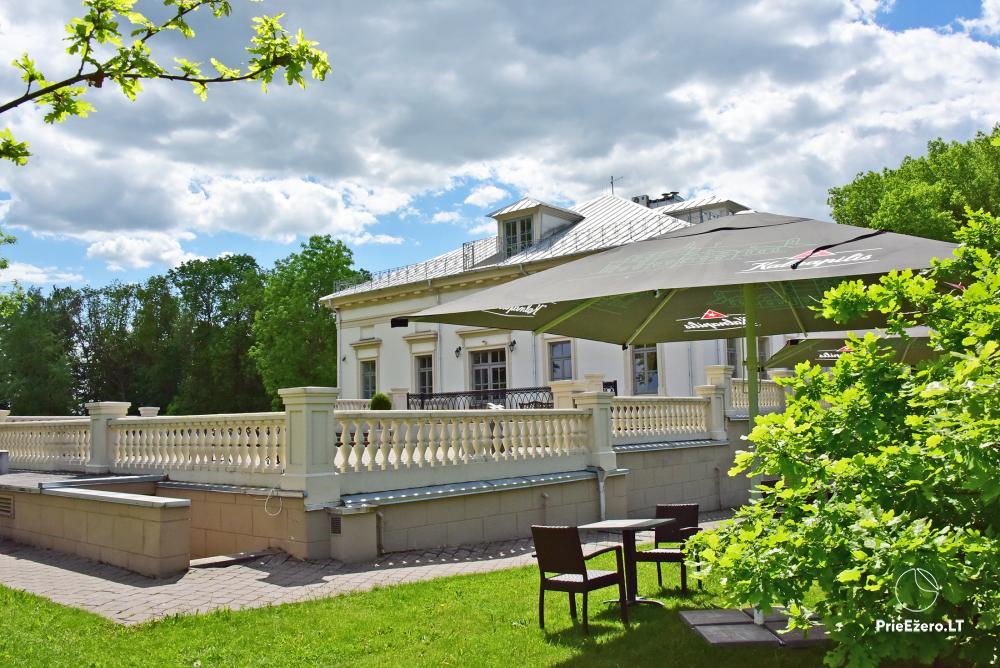 Krikštėnai Manor with a banquet hall for weddings, celebrations - 6