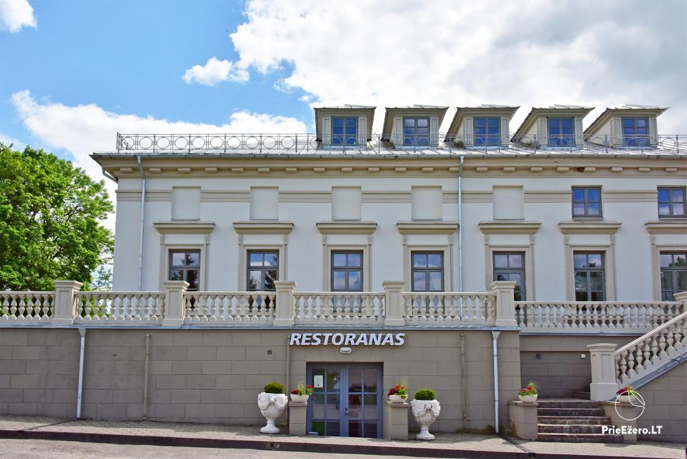 Krikštėnai Manor with a banquet hall for weddings, celebrations - 5