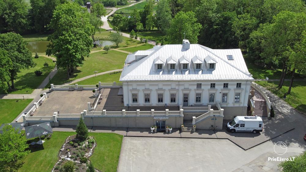 Krikštėnai Manor with a banquet hall for weddings, celebrations - 2