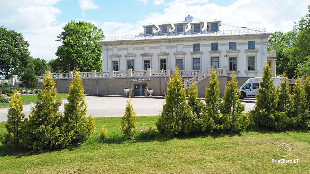 Krikštėnai Manor with a banquet hall for weddings, celebrations - 1