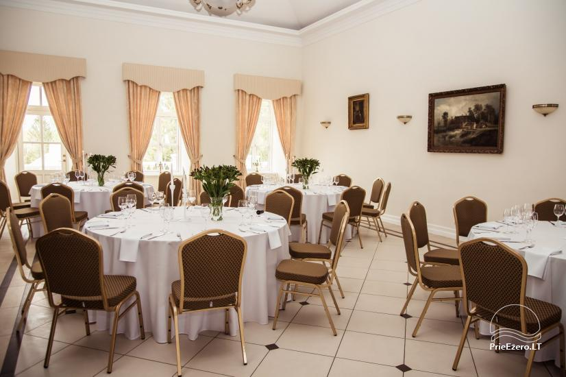 Krikštėnai Manor with a banquet hall for weddings, celebrations - 32