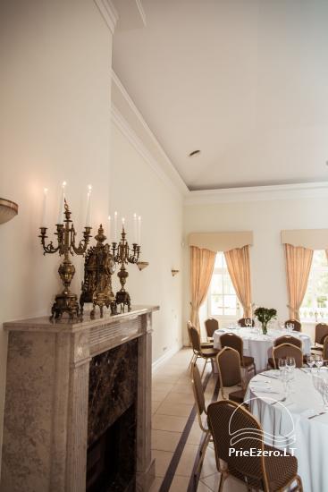 Krikštėnai Manor with a banquet hall for weddings, celebrations - 33