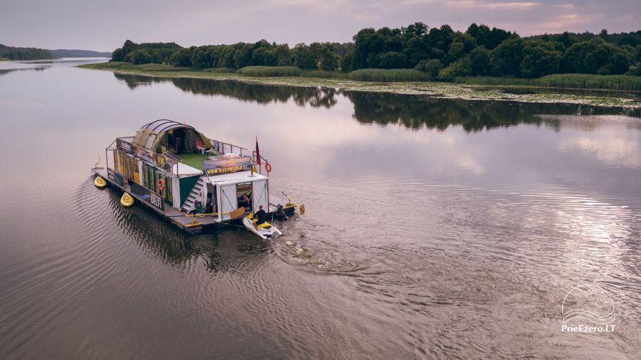 Raft NEMO for rent on the lake Aviris: accommodation, catering, sauna, celebrations! - 2