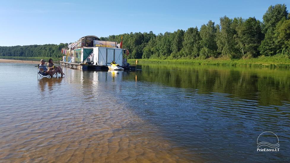 Raft NEMO for rent on the lake Aviris: accommodation, catering, sauna, celebrations! - 3