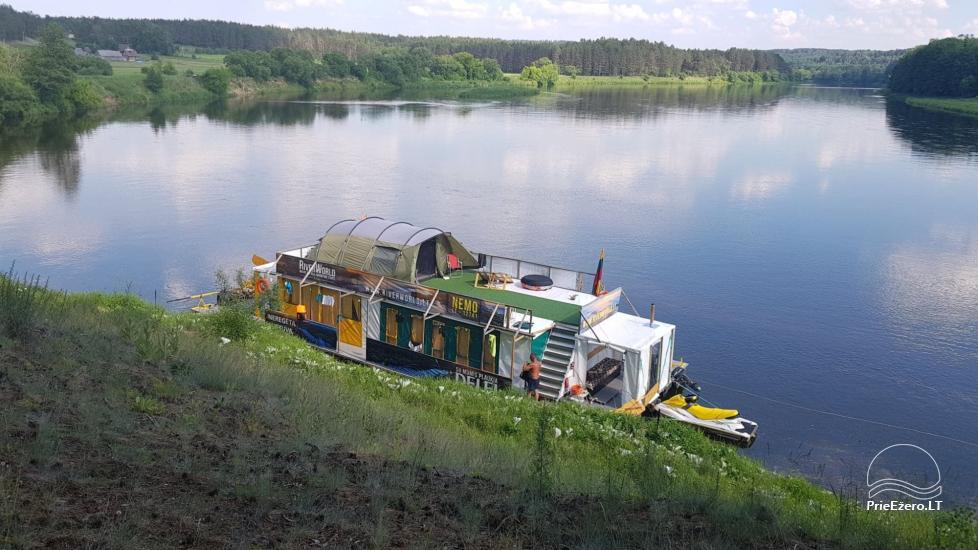 Raft NEMO for rent on the lake Aviris: accommodation, catering, sauna, celebrations! - 4