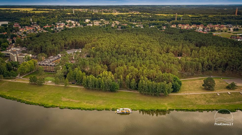 Raft NEMO for rent on the lake Aviris: accommodation, catering, sauna, celebrations! - 5