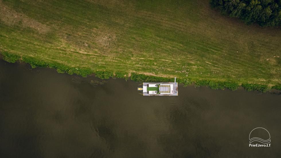 Raft NEMO for rent on the lake Aviris: accommodation, catering, sauna, celebrations! - 6