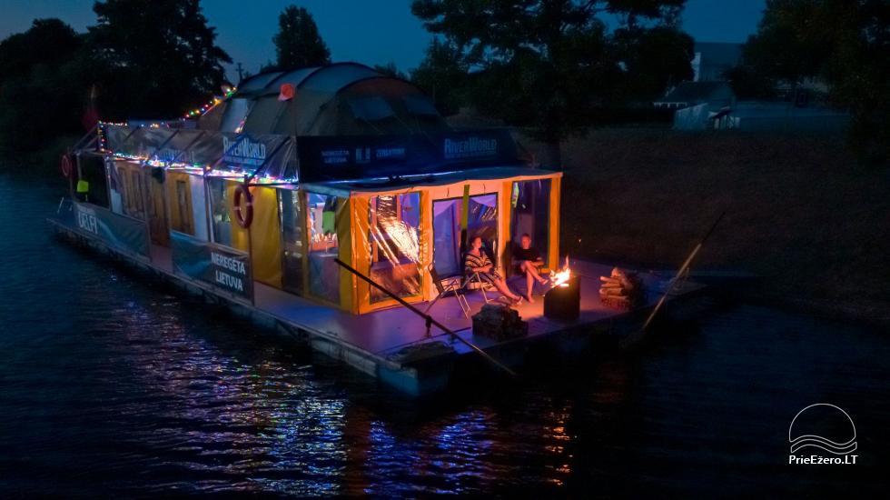 Raft NEMO for rent on the lake Aviris: accommodation, catering, sauna, celebrations! - 7