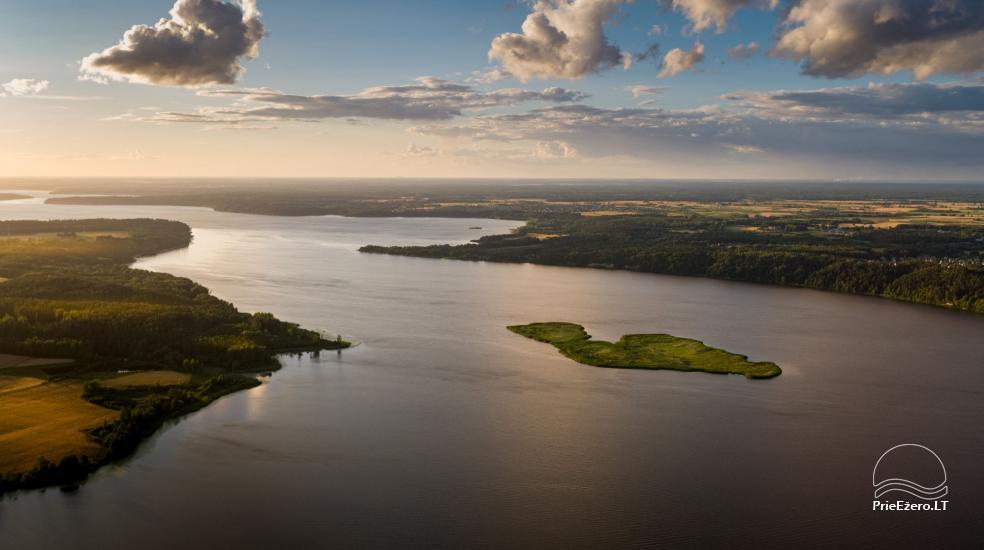 Raft NEMO for rent on the lake Aviris: accommodation, catering, sauna, celebrations! - 9