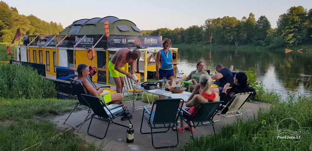 Raft NEMO for rent on the lake Aviris: accommodation, catering, sauna, celebrations! - 10