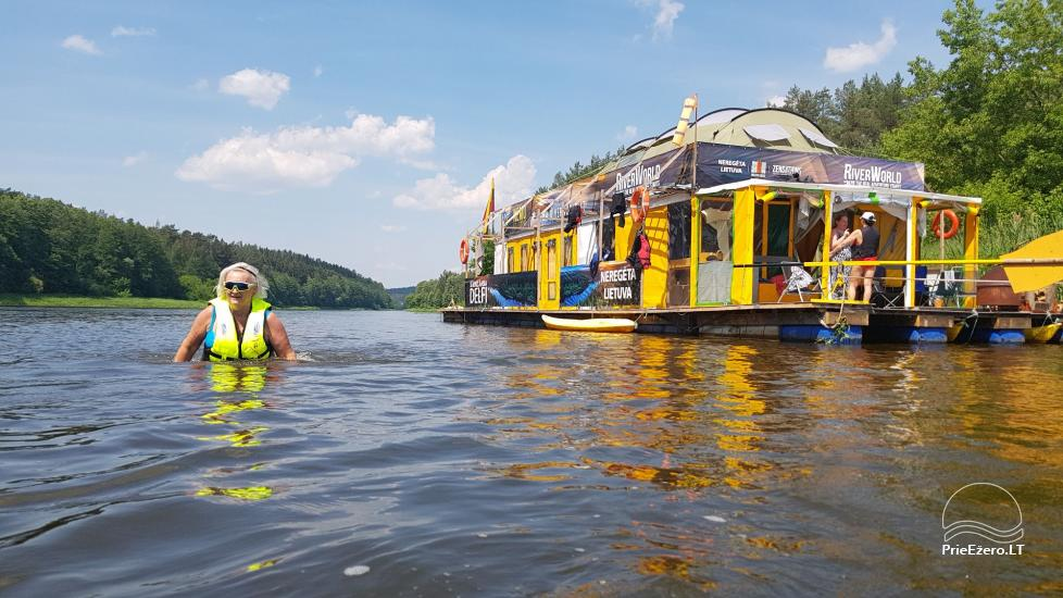Raft NEMO for rent on the lake Aviris: accommodation, catering, sauna, celebrations! - 12