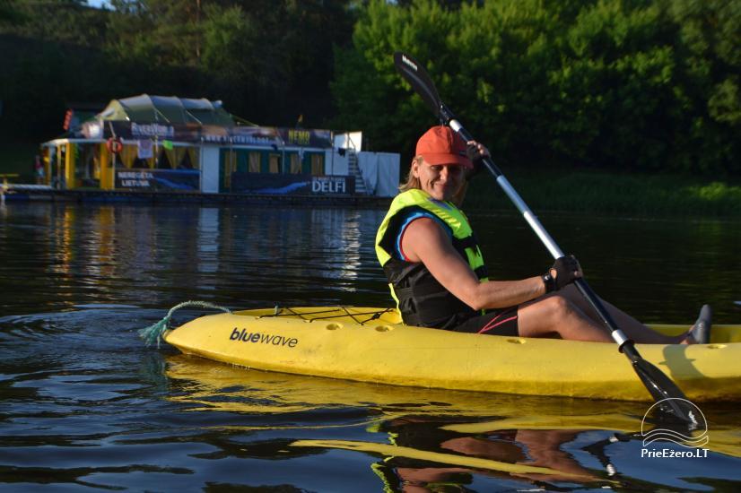 Raft NEMO for rent on the lake Aviris: accommodation, catering, sauna, celebrations! - 14