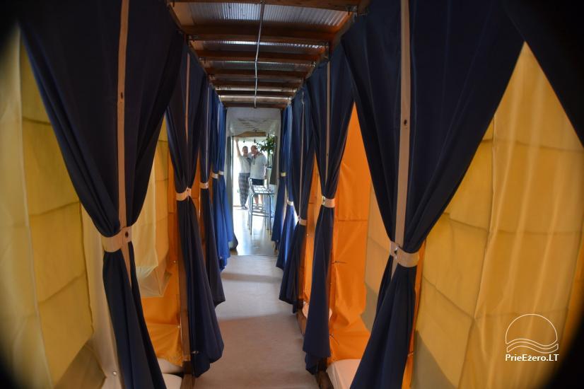 Raft NEMO for rent on the lake Aviris: accommodation, catering, sauna, celebrations! - 15