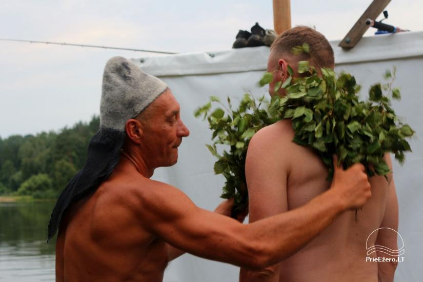 Raft NEMO for rent on the lake Aviris: accommodation, catering, sauna, celebrations! - 16
