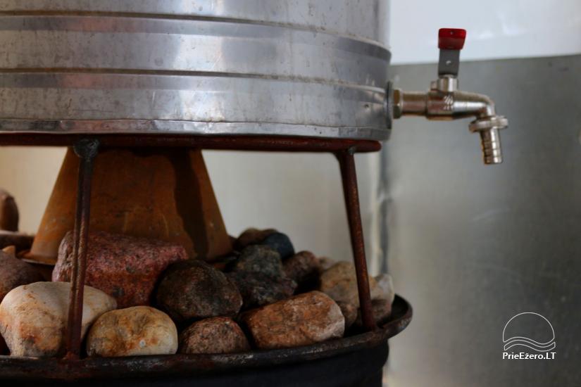 Raft NEMO for rent on the lake Aviris: accommodation, catering, sauna, celebrations! - 17